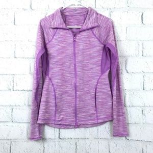 Z by Zella Medium Track Jacket Purple Long Sleeve